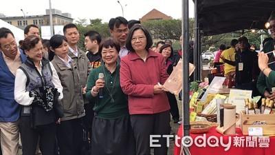 蔡英文力挺台灣米:每天都要有一餐吃到米