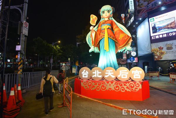 ▲▼2019台北燈節,林默娘,台北天后宮。(圖/記者李毓康攝)