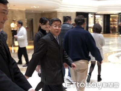 上海市台辦主任李文輝抵台 午宴見連勝文、張麗善