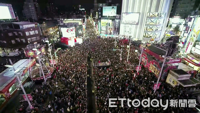 台北燈節開展 柯P宣布20萬人塞爆西門町