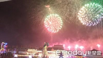 台南正統鹿耳門聖母廟 如台江不夜城