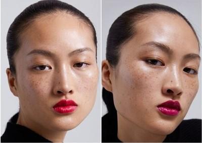 ZARA模特兒「滿臉雀斑」引辱華爭議