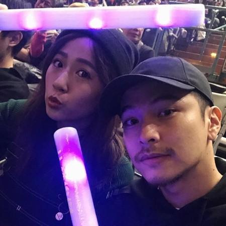 ▲方志友楊銘威、六月李易都前往觀看JJ演唱會。(圖/翻攝自方志友Instagram)