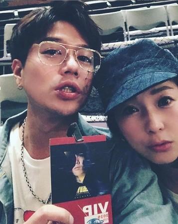 ▲方志友楊銘威、六月李易都前往觀看JJ演唱會。(圖/翻攝自六月Instagram)