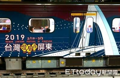 台灣燈會試營運 台鐵近1萬5千人次