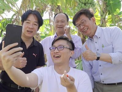 郭國文要助台南農民一臂之力