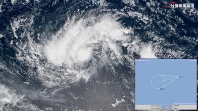 吳德榮:蝴蝶颱風侵台機率微乎其微