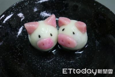 3天然食材捏出超軟萌「小豬湯圓」 粉色豬鼻原料竟是它!
