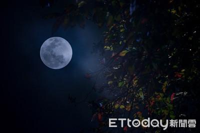 今年最大滿月登場!23:54達最大之姿