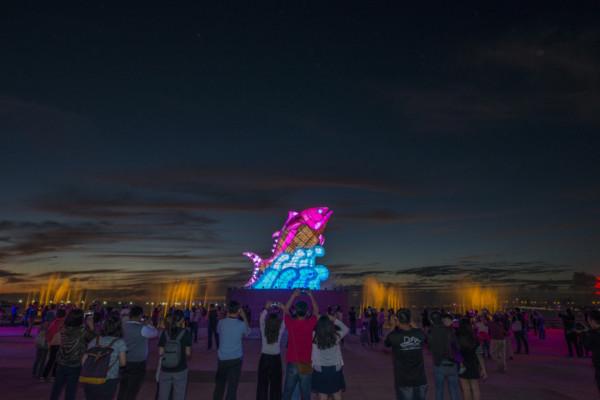 台灣屏東燈會根本「海洋樂園嘉年華」!掌握3招爽逛園區