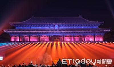 超美! 上元之夜點亮北京故宮
