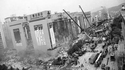 韓國「三豐百貨公司倒塌」怪談!居民:現在還有人提著百貨紙袋逃亡