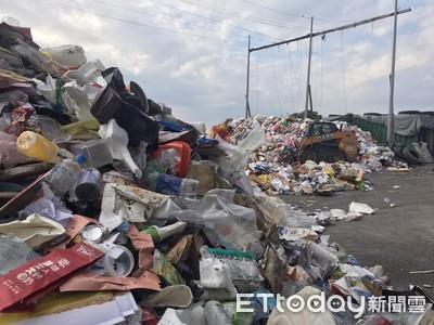 9天年假湧入人潮 花蓮市垃圾量爆增