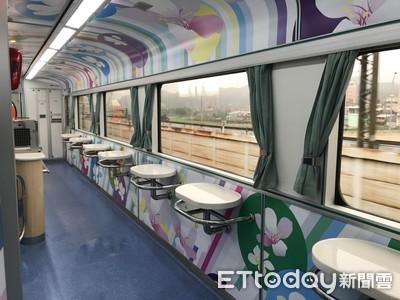 觀光列車砸8千萬改裝被酸「台鐵美學」