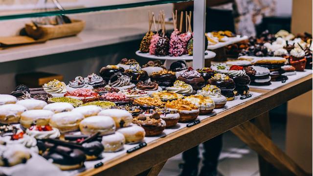 ▲▼自助吧,甜點,吃到飽。(圖/pixabay)