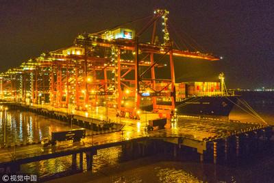 寧波舟山港年吞吐量首破11億噸