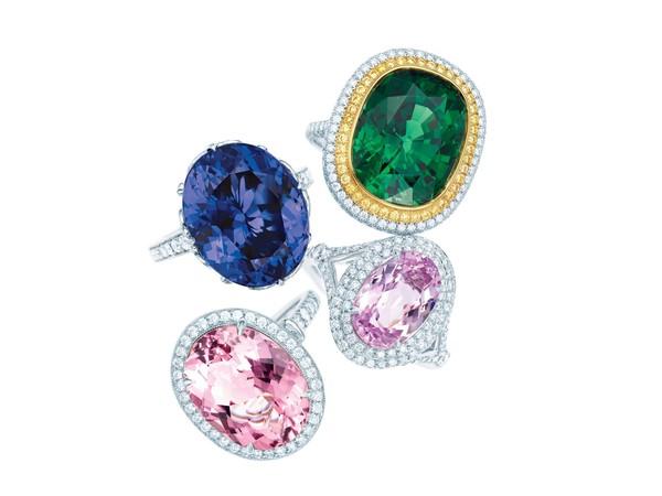 Tiffany發掘的4大彩色寶石你認識嗎?粉紫、玫瑰色看著都醉了