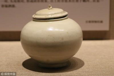 曹操墓驚現3世紀白瓷甕罐 7月東京展出