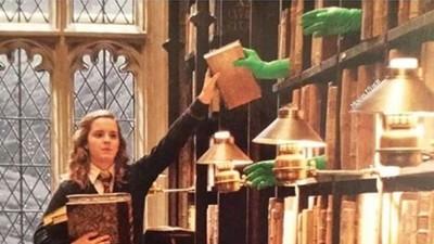 梅林的鬍子啊!綠觸手空中接書 哈利波特現場真相...沒笑場都是演技