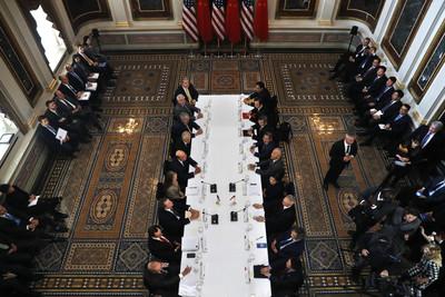 新華社:兩國元首引領中美經貿磋商前行