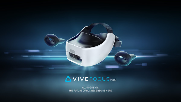 ▲HTC VIVE Focus Plus。(圖/HTC vive提供)