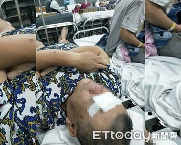 照片曝光!越南台商遇烏龍綁架濺血