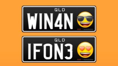 「Emoji車牌」在澳洲要合法上路! 網友全表示(哭笑不得)
