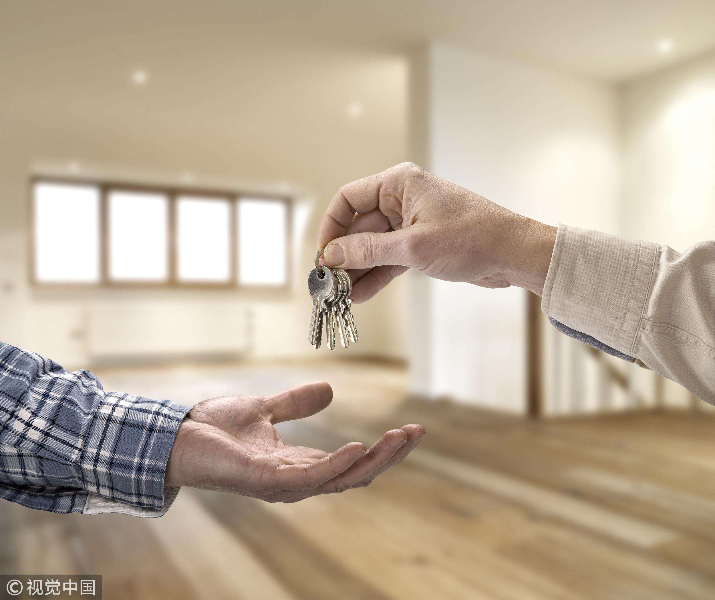 ▲▼租屋,鑰匙,買房示意圖。(圖/CFP)