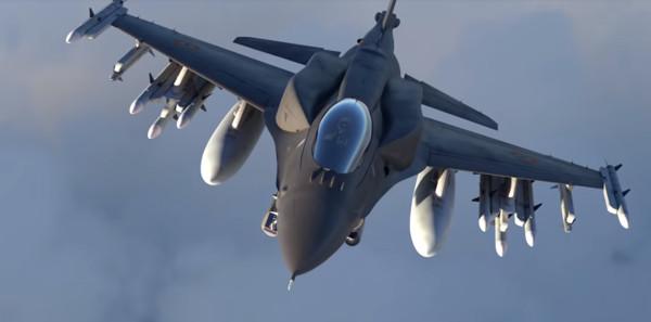 ▲▼印度F-21戰機。(圖/翻攝自Lockheed Martin youtube)