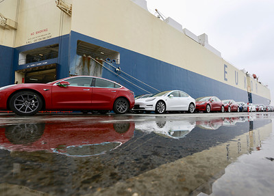 1600輛Model 3 被陸海關暫停放行
