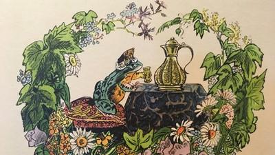 嫉妒女兒太聰明「把她變青蛙」 戰鬥民族版青蛙公主 變王子歷險記