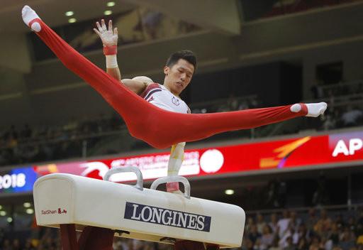 李智凱摘世界盃第三金 奧運資格幾乎到手
