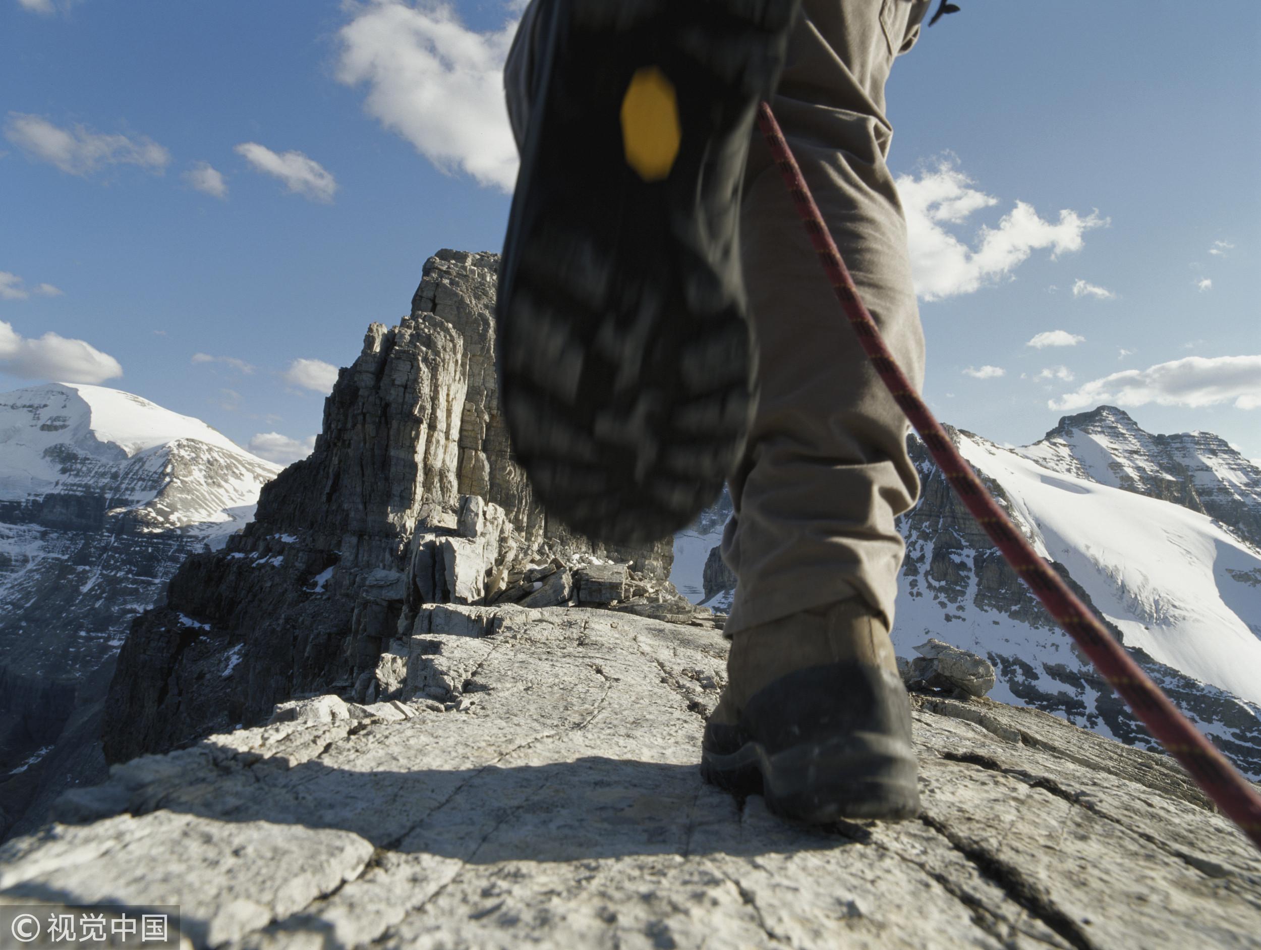 ▲爬山,登山,攀岩,山,山上。(圖/CFP)