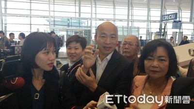 飛馬來西亞拚經濟 韓國瑜:一下飛機就要衝