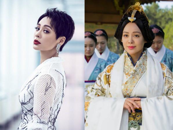 ▲▼ 寧靜演過多部歷史劇女主角,包括羋月、趙姬等角色。(圖/翻攝自愛奇藝、寧靜微博)