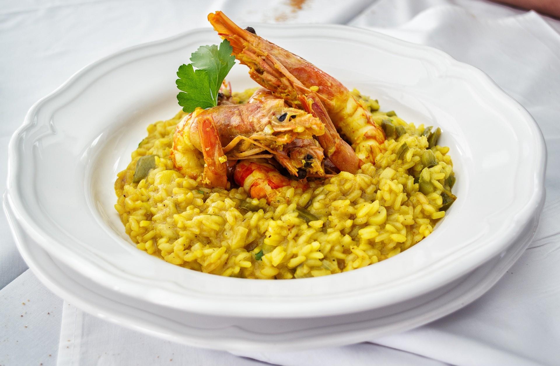 ▲西餐(燉飯)。(圖/取自免費圖庫pixabay)