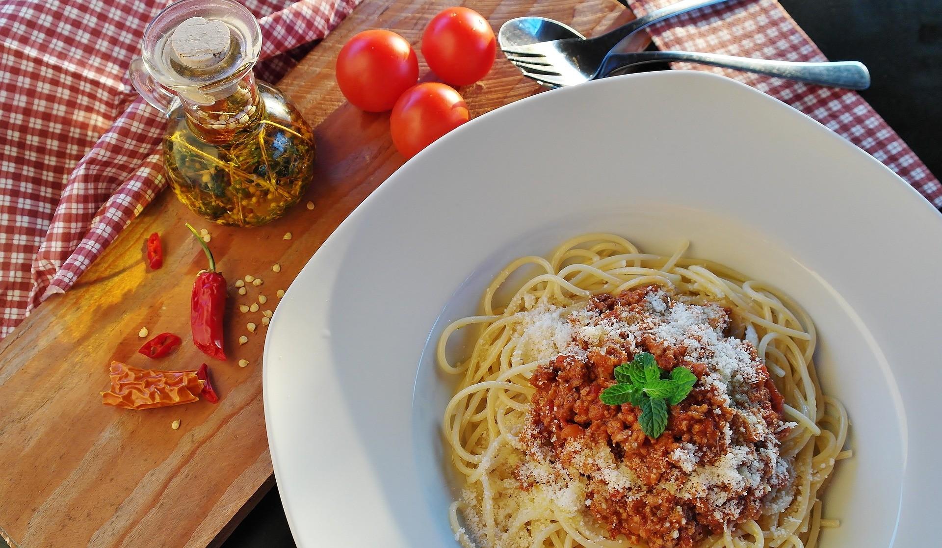 ▲西餐(義大利麵)。(圖/取自免費圖庫pixabay)