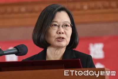 蔡英文連任?台灣民意基金會:5成2不支持