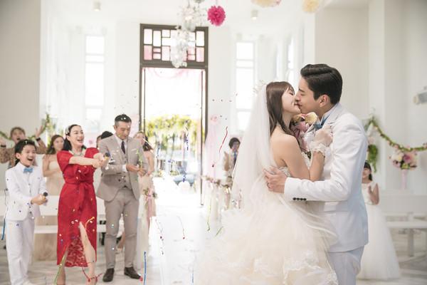 ▲▼《一吻定情》婚禮刪剪片段。(圖/京騰娛樂提供)