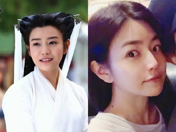 ▲陳妍希小籠包臉蛋消失,網友驚呼:「臉怎麼變這樣了。」(圖/翻攝自網路、臉書)