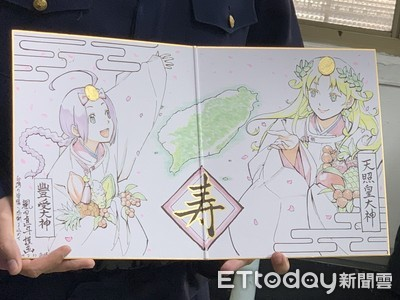 日本漫畫家來台丟錢包 手繪卡片謝警察