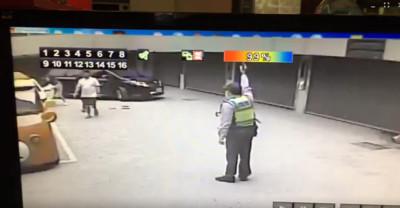 台中摩鐵槍響 警鳴槍嚇阻