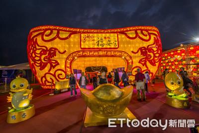 台灣燈會宗教燈區 12宗教團體齊聚佑台灣