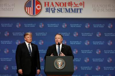 蓬佩奧:望數周內派協商團隊前進北韓