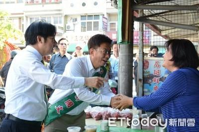 賴清德呼籲民眾 集中支持郭國文