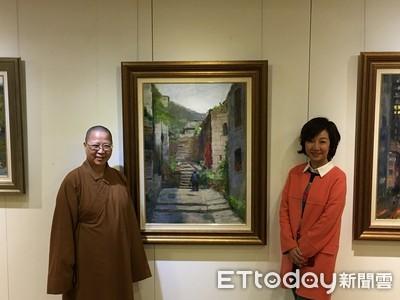 丁菱娟油畫展 南台別院美術館登場