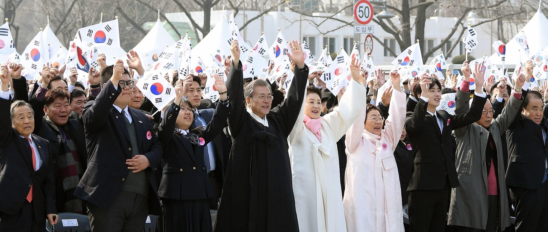 ▲▼韓國三一運動百週年紀念(圖/翻攝自維基百科)