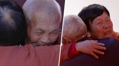 走失58年後終團聚!九旬父母做了一雙鞋 64歲女兒哭得像個孩子