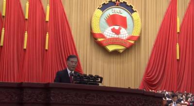 汪洋:支持委員對中美經貿摩擦發聲