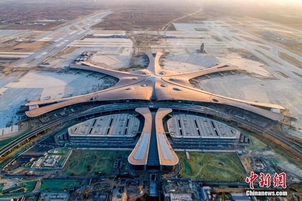 華聞快遞/北京大興國際機場航班更省時 旅客中轉更快捷